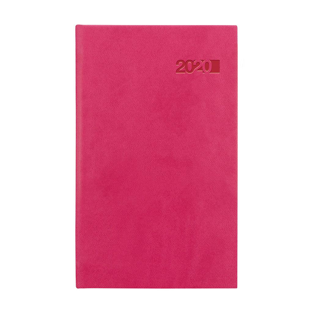Vreck. diár VIVA ružový 2020 (90x150 mm)