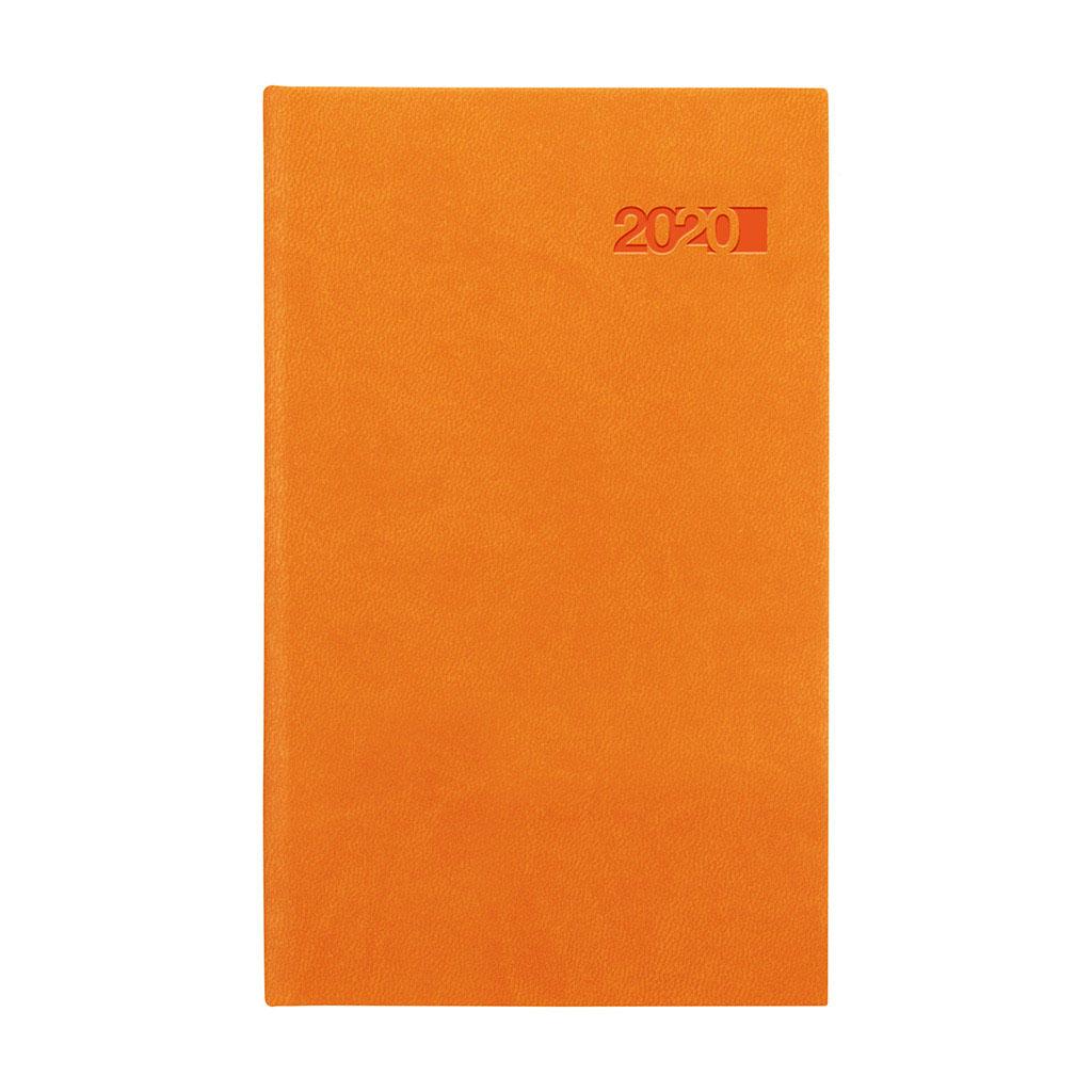 Vreck. diár VIVA oranžový 2020 (90x150 mm)