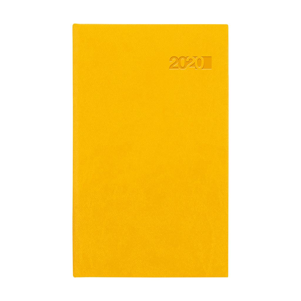 Vreck. diár VIVA žltý 2020 (90x150 mm)