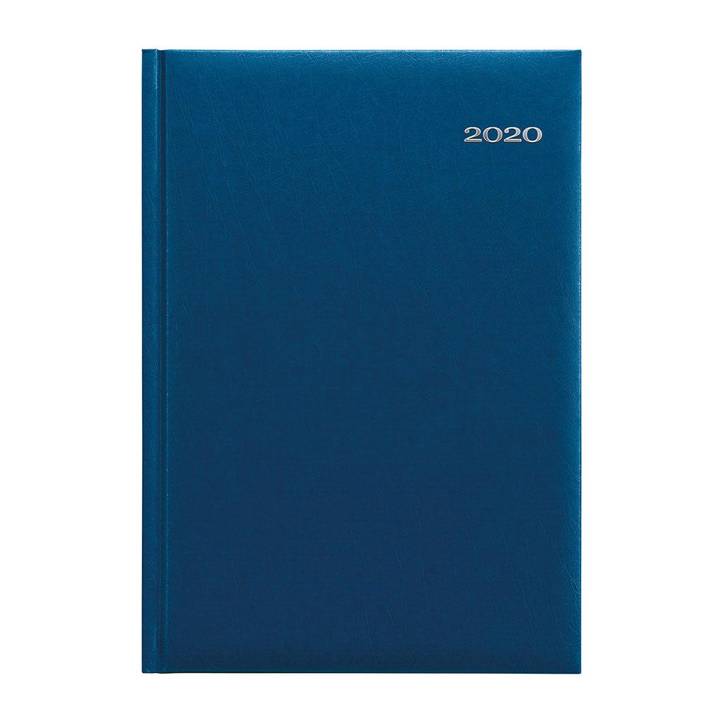 Denný diár KRONOS modrý 2020 / A5 (148x210 mm)