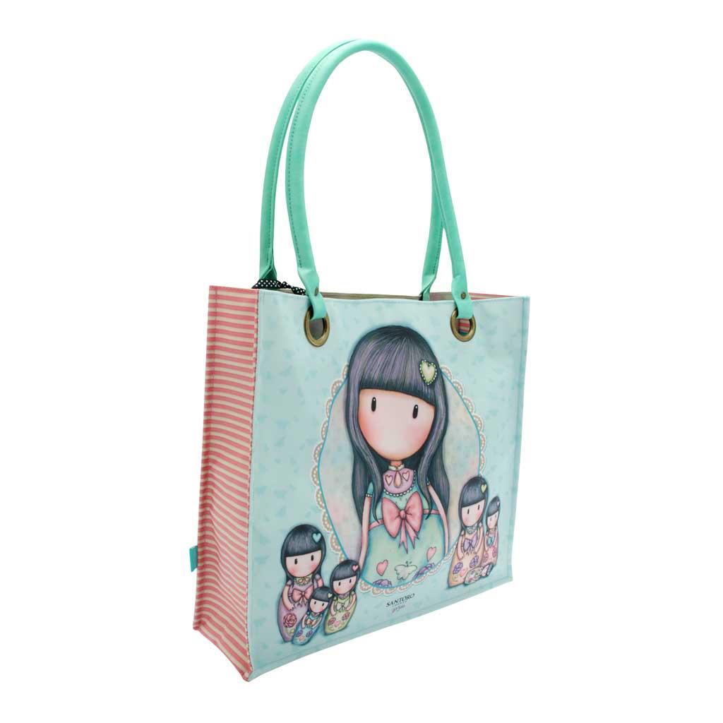 Gorjuss nákupná taška s povrch. úpravou - Seven Sisters, 360 x 385 x 30 mm