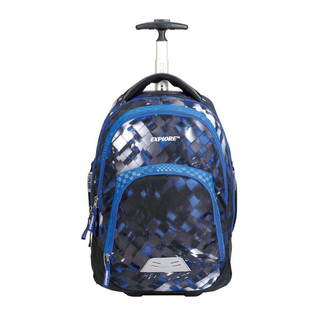 Batoh Explore Trolley - Boys, Blue