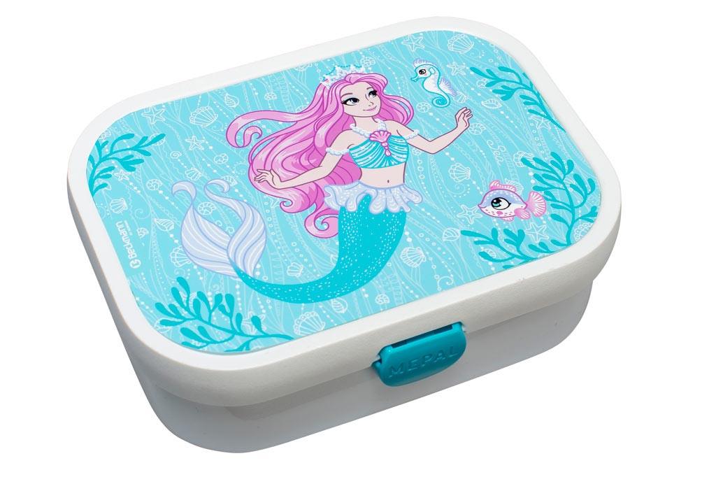 Desiatový box Beckmann s príslušenstvom - Girls, Mermaid