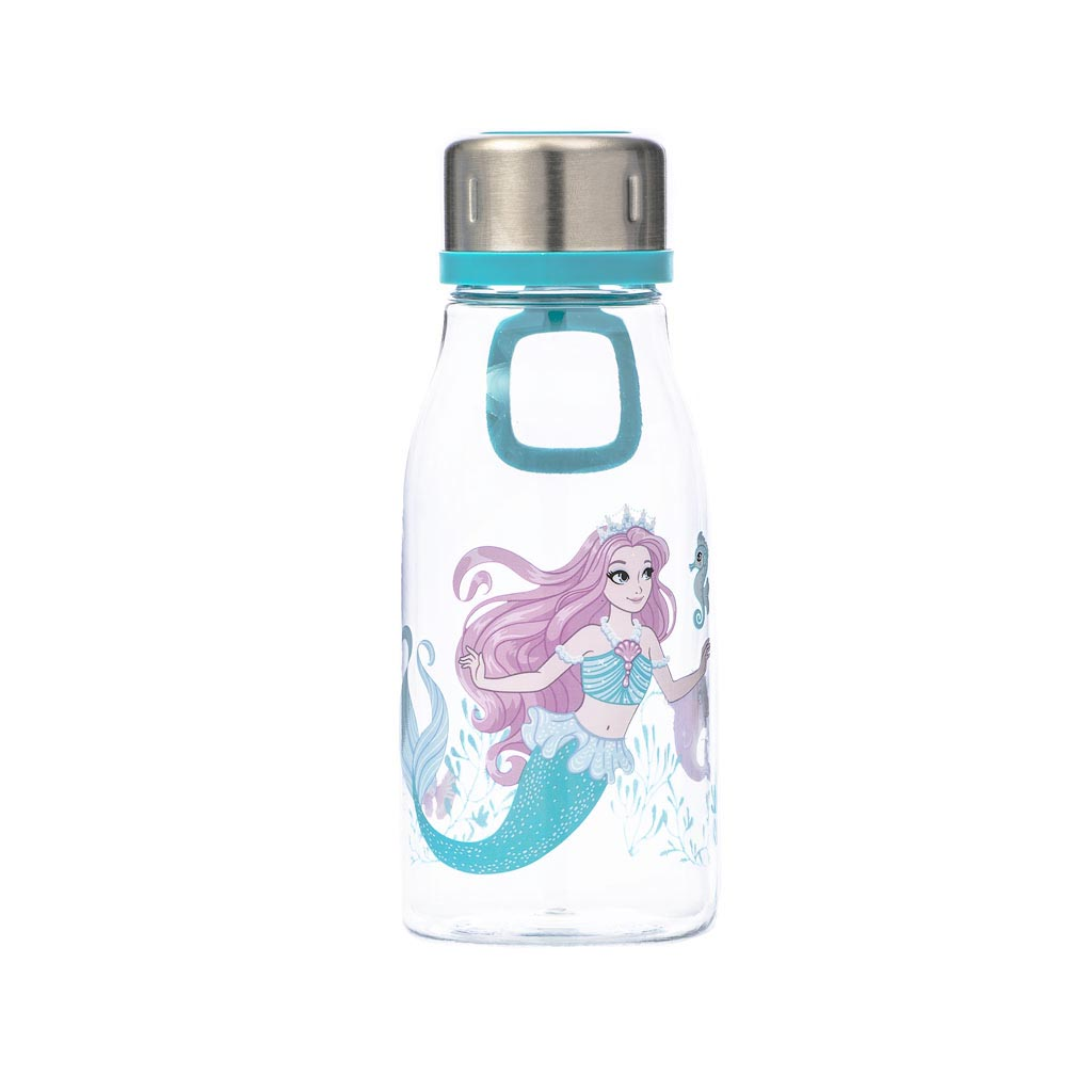 Fľaša na pitie Beckmann 400ml - Girls, Mermaid