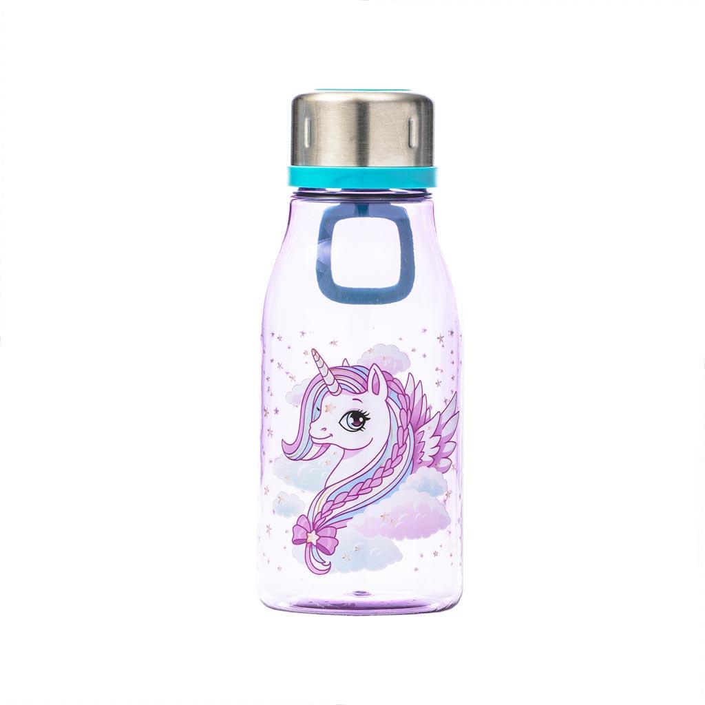 Fľaša na pitie Beckmann 400ml - Girls, Unicorn