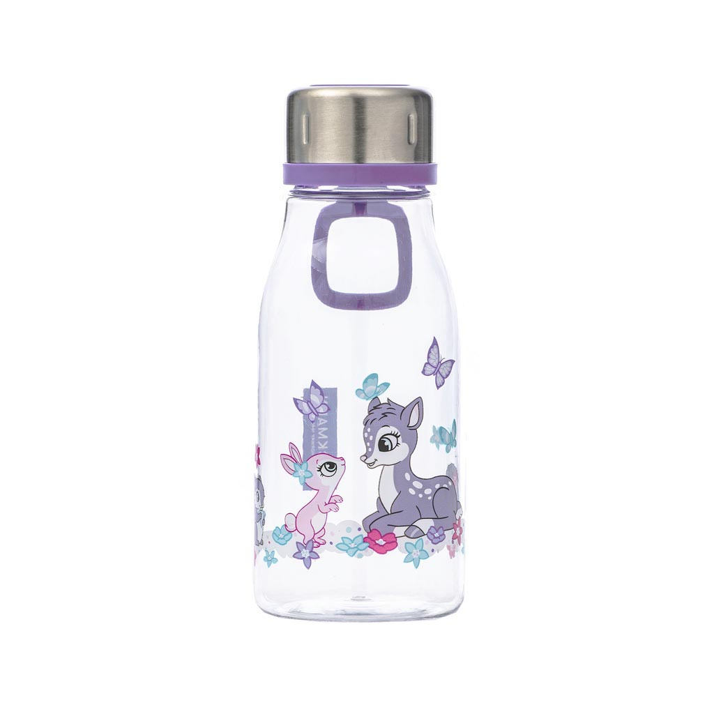 Fľaša na pitie Beckmann 400ml - Girls, Forest Friends