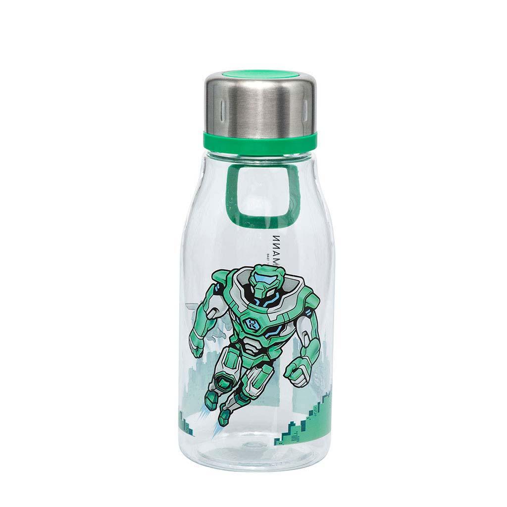 Fľaša na pitie Beckmann 2020, 400ml - Boys, Roboman
