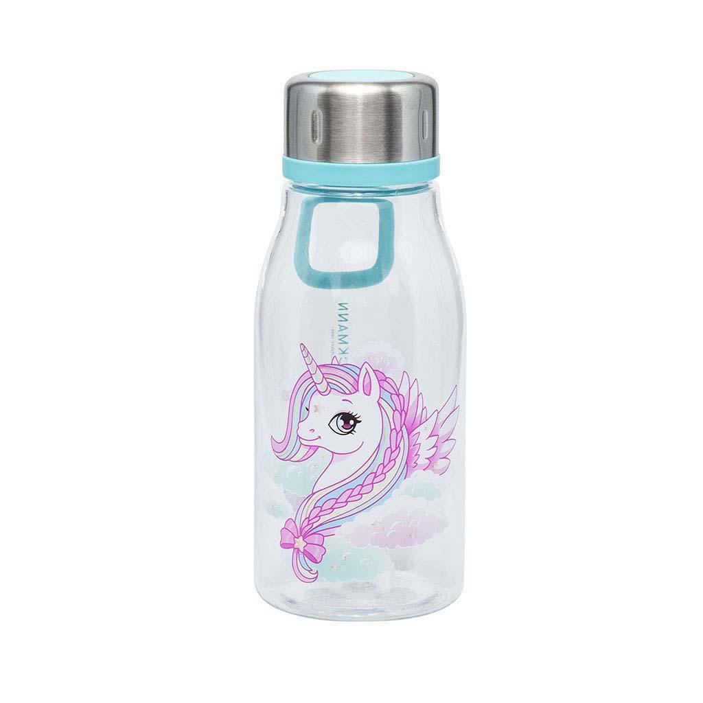 Fľaša na pitie Beckmann 2020, 400ml - Girls, Unicorn