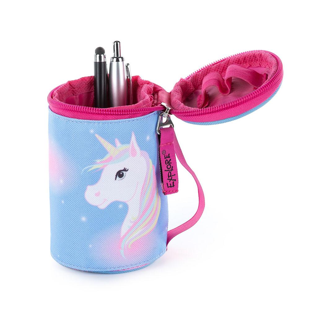 Peračník 2 v 1 - etue - Girls, Unicorn