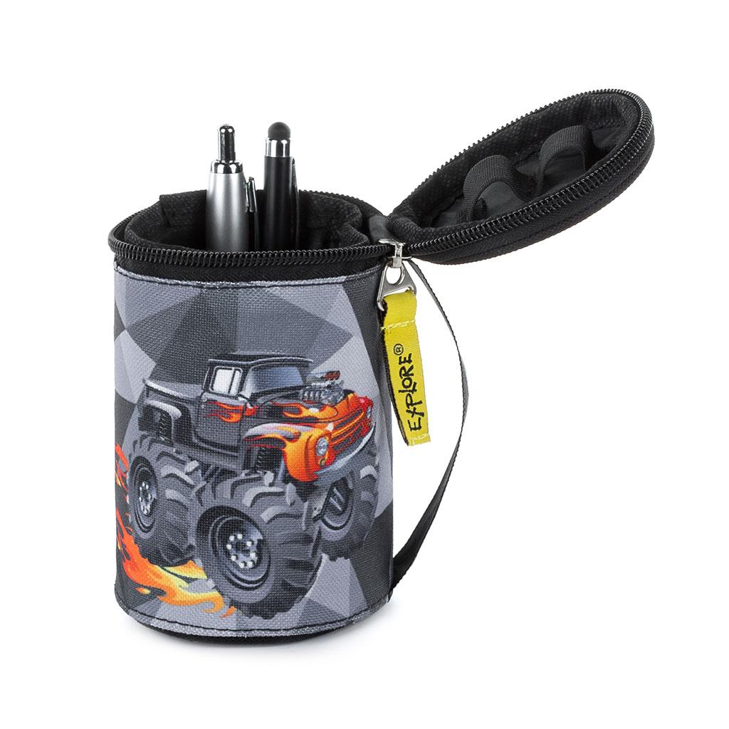 Peračník 2 v 1 - etue - Boys, Fire Jeep