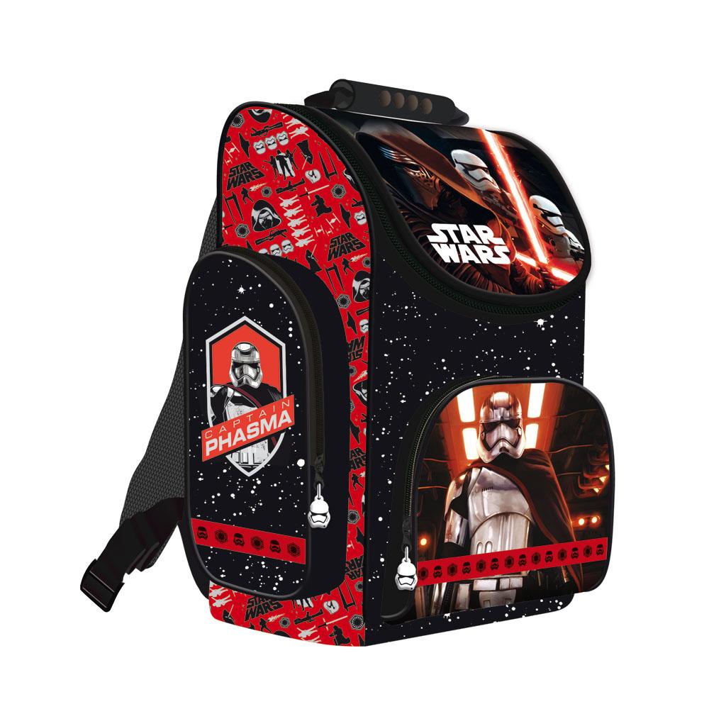 Školská taška - Star Wars, červená