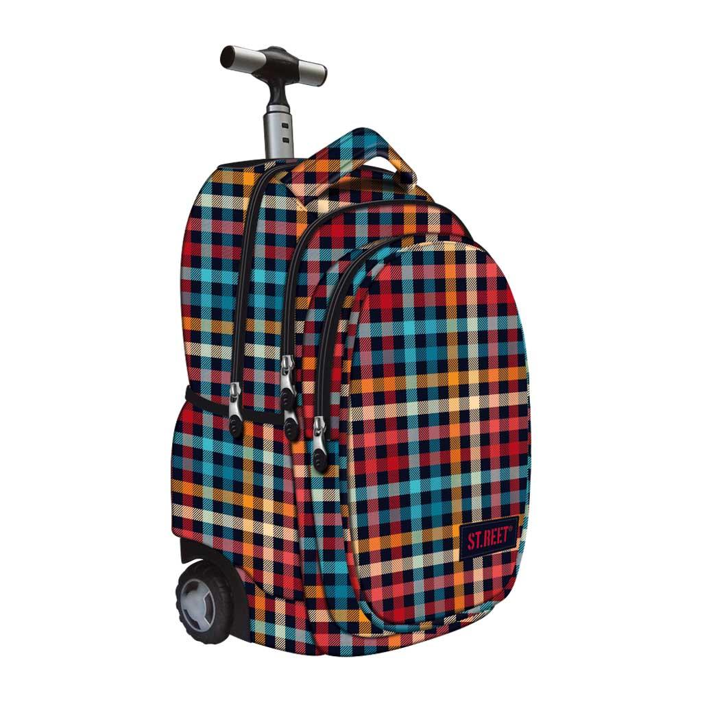 Batoh Trolley - kockový vzor, 2020