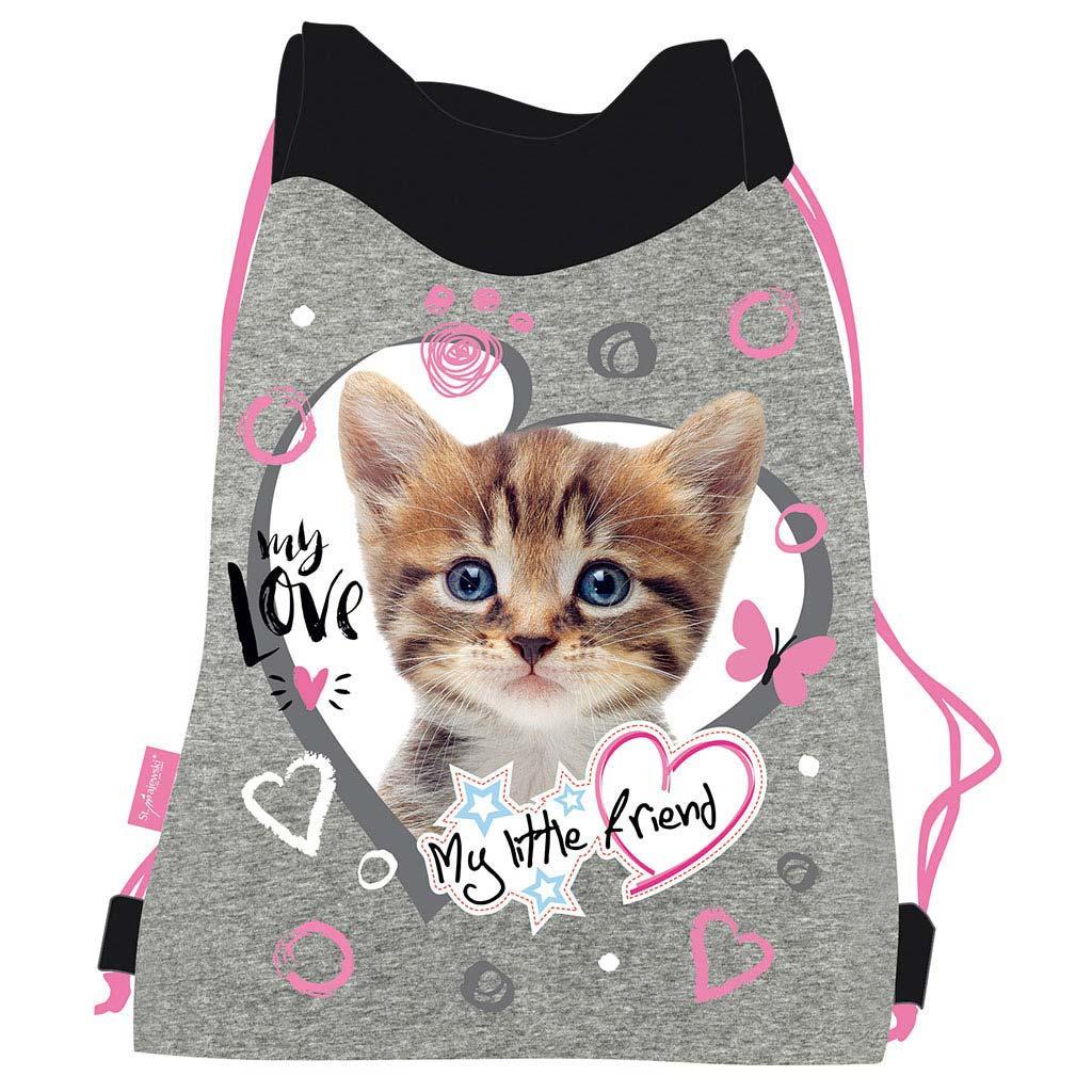 Vrecko na prezúvky - Mačka