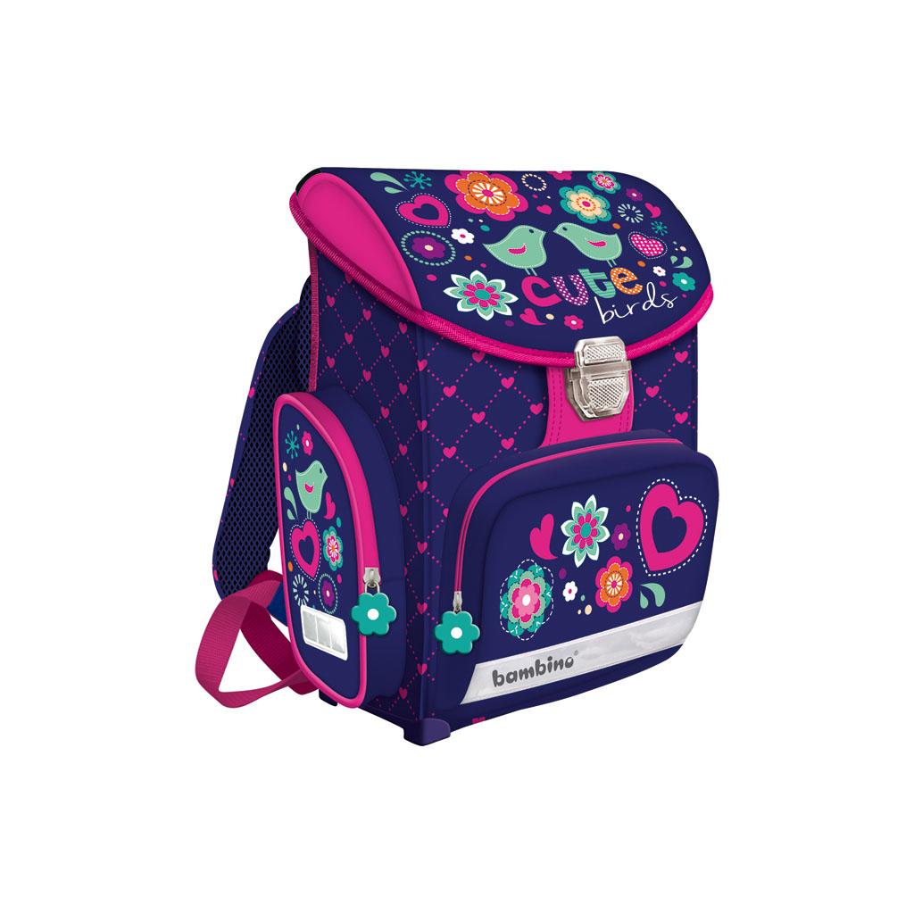 Školská taška - Vtáčiky