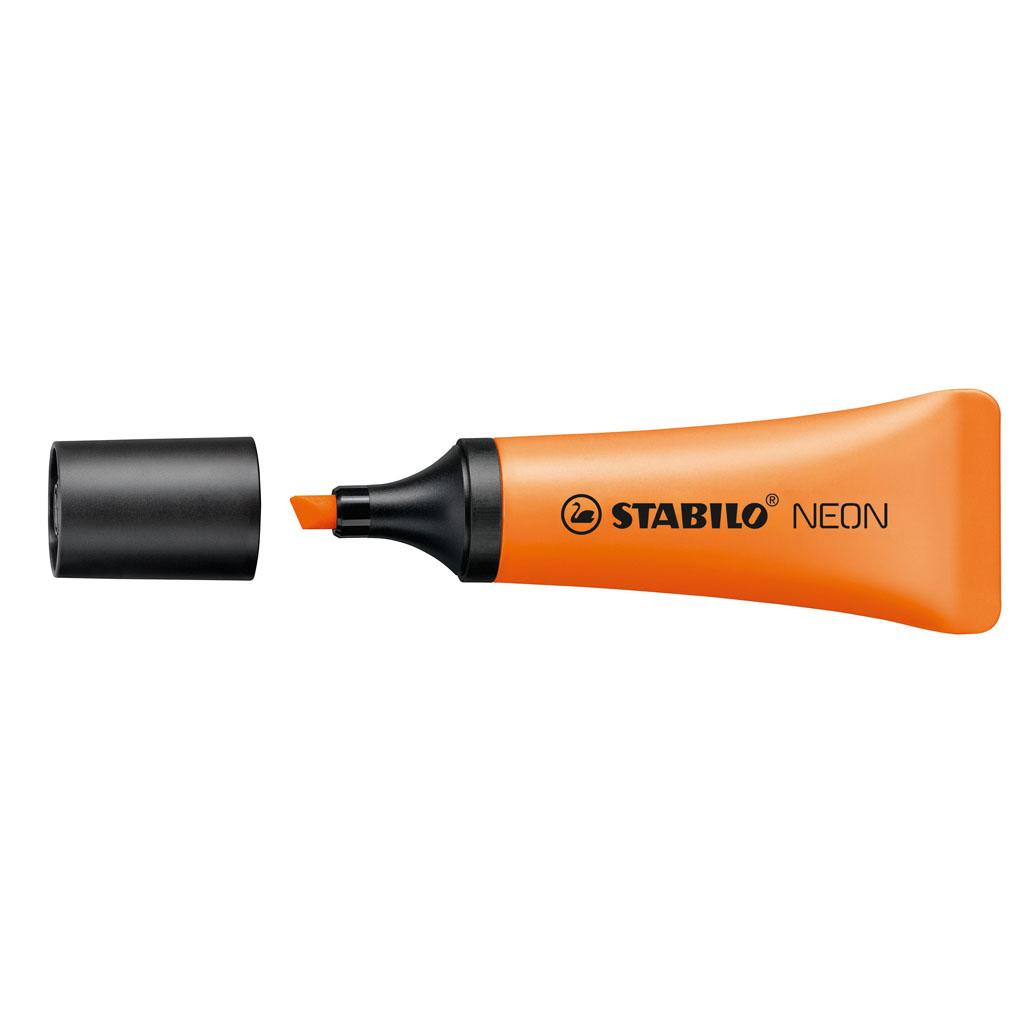 Stabilo zvýrazňovač  NEON 72/54 - oranžová
