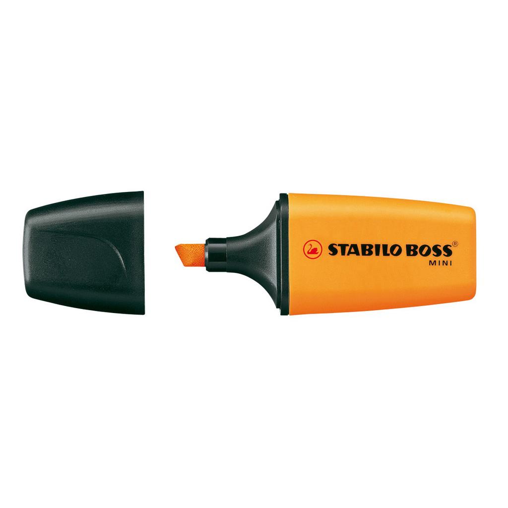 Stabilo zvýrazňovač  Boss mini  07/54 - oranžová