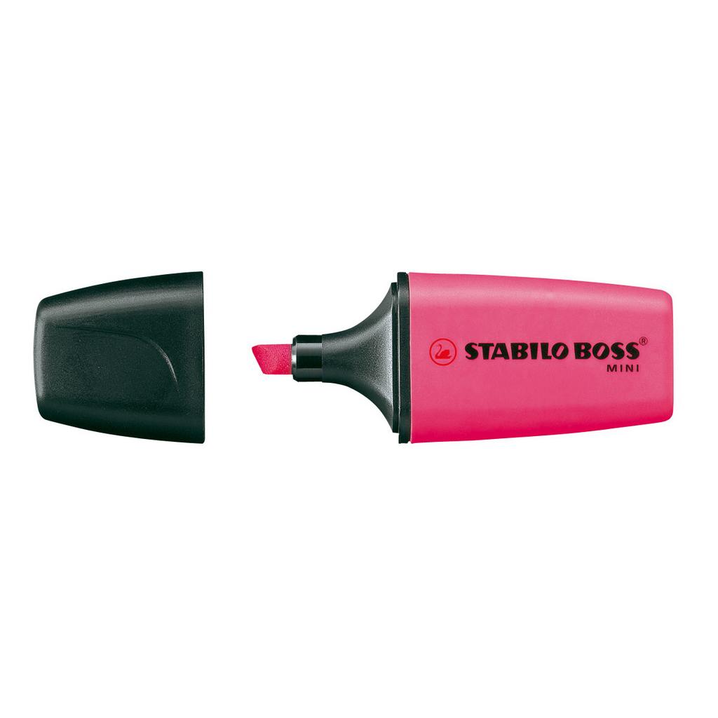Stabilo zvýrazňovač  Boss mini  07/56 -  ružová