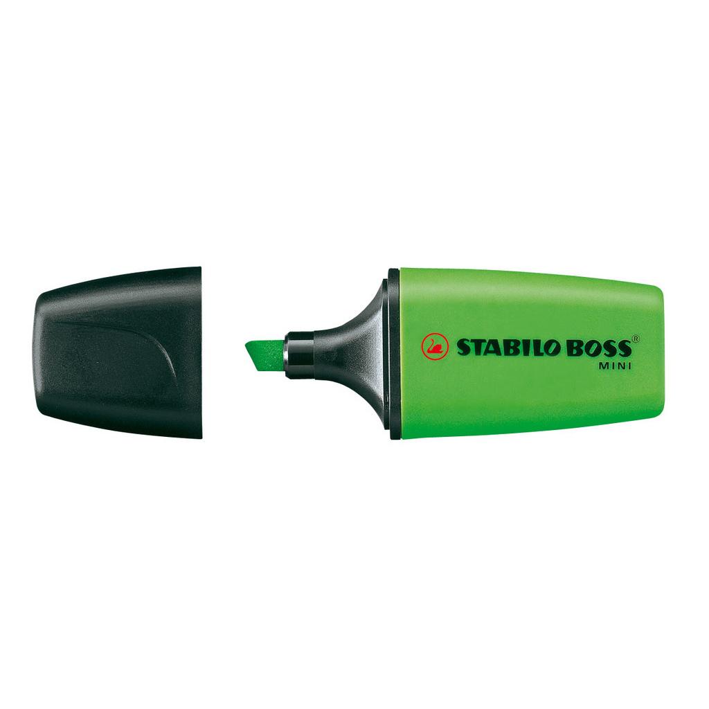 Stabilo zvýrazňovač  Boss mini  07/33 - zelená