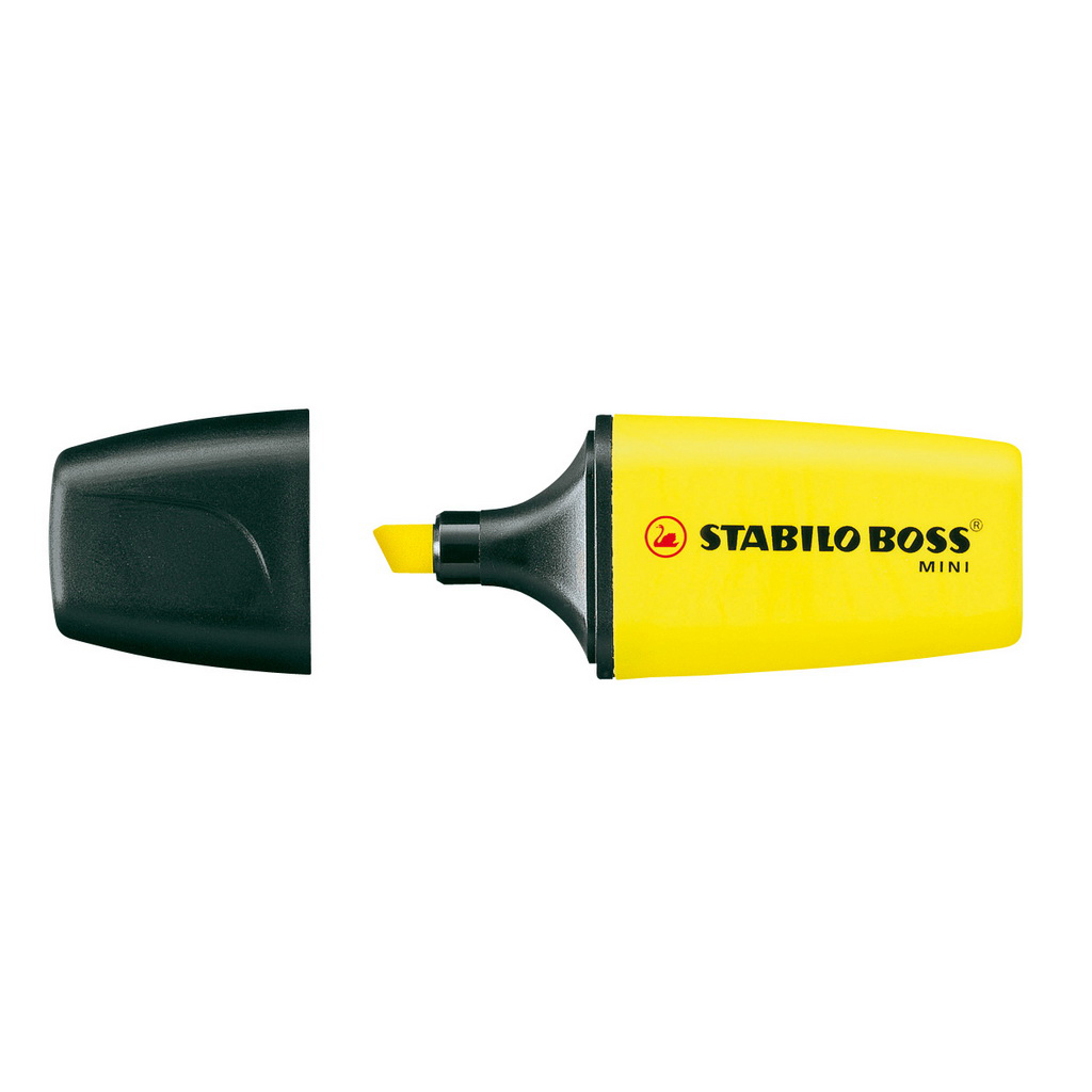 Stabilo zvýrazňovač  Boss mini  07/24 - žltá