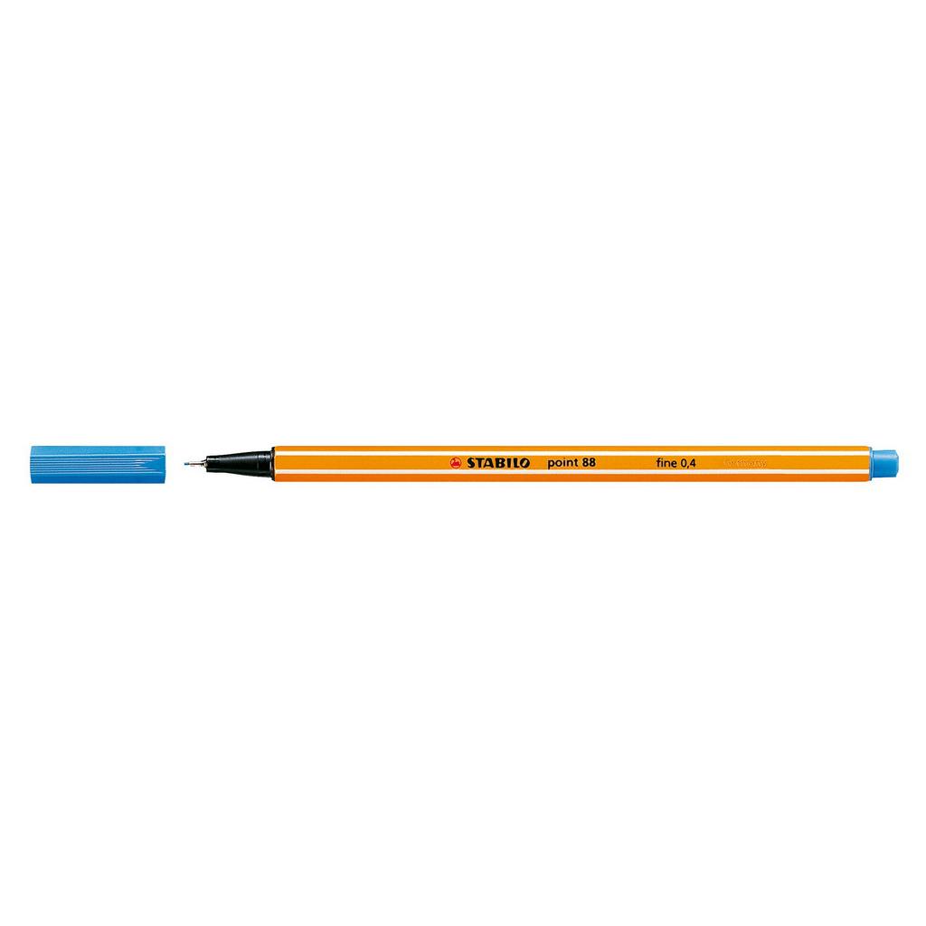 Stabilo popisovač  Point 88/32 0,4 liner - stredne modrá
