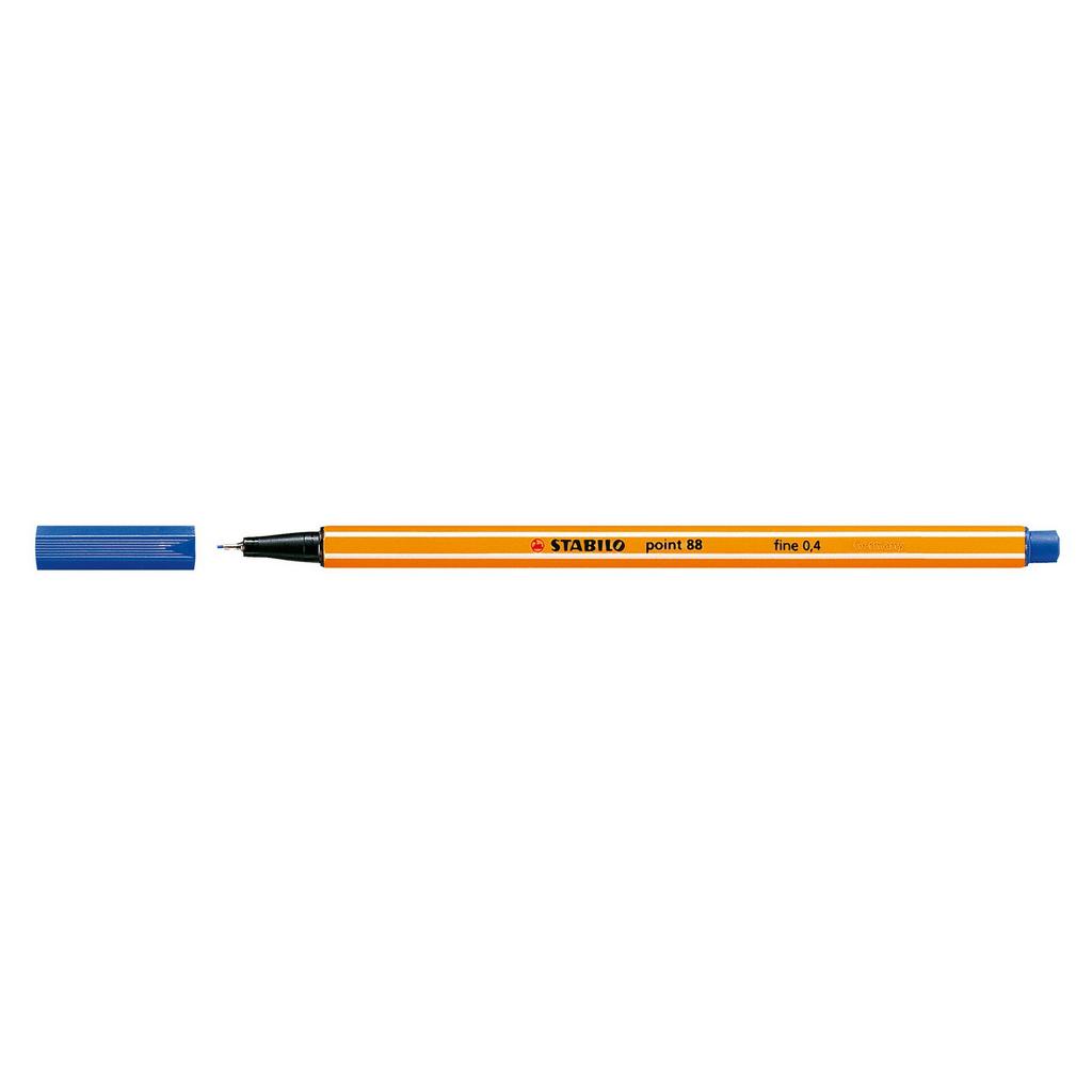 Stabilo popisovač  Point 88/41 0,4 liner - tmavo modrá