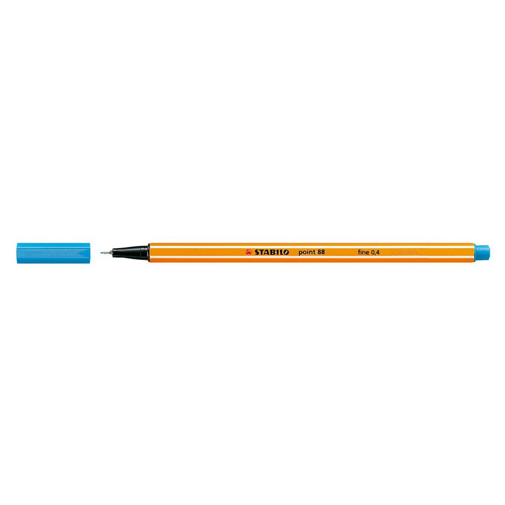 Stabilo popisovač  Point 88/51 0,4 liner - tyrkysovo modrá