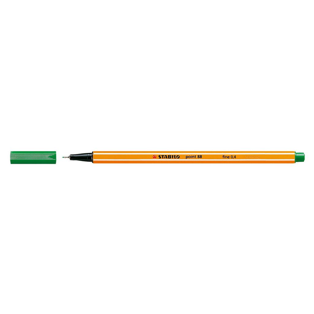 Stabilo popisovač  Point 88/36 0,4 liner - zelená