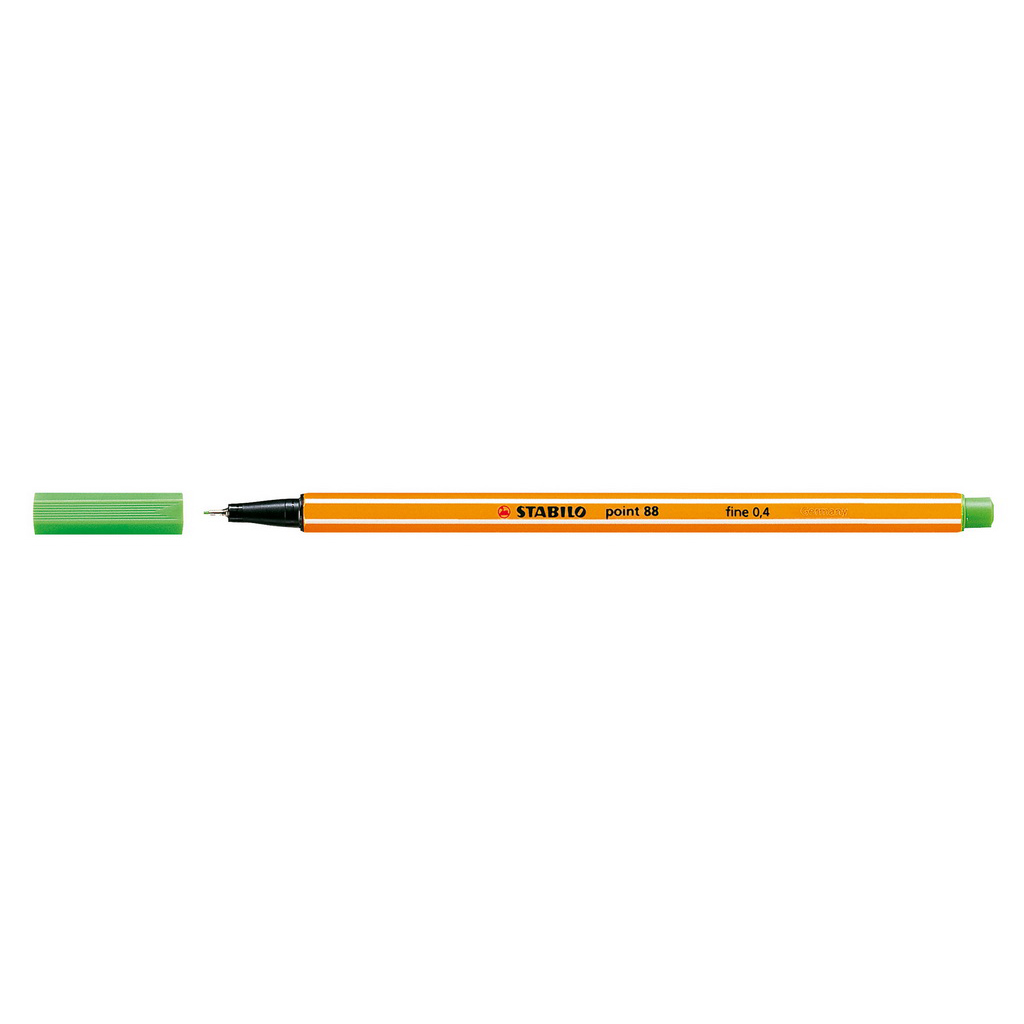 Stabilo popisovač  Point 88/43 0,4 liner - svetlo zelená