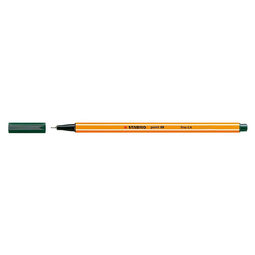 Stabilo popisovač  Point 88/63 0,4 liner - olivovo zelená