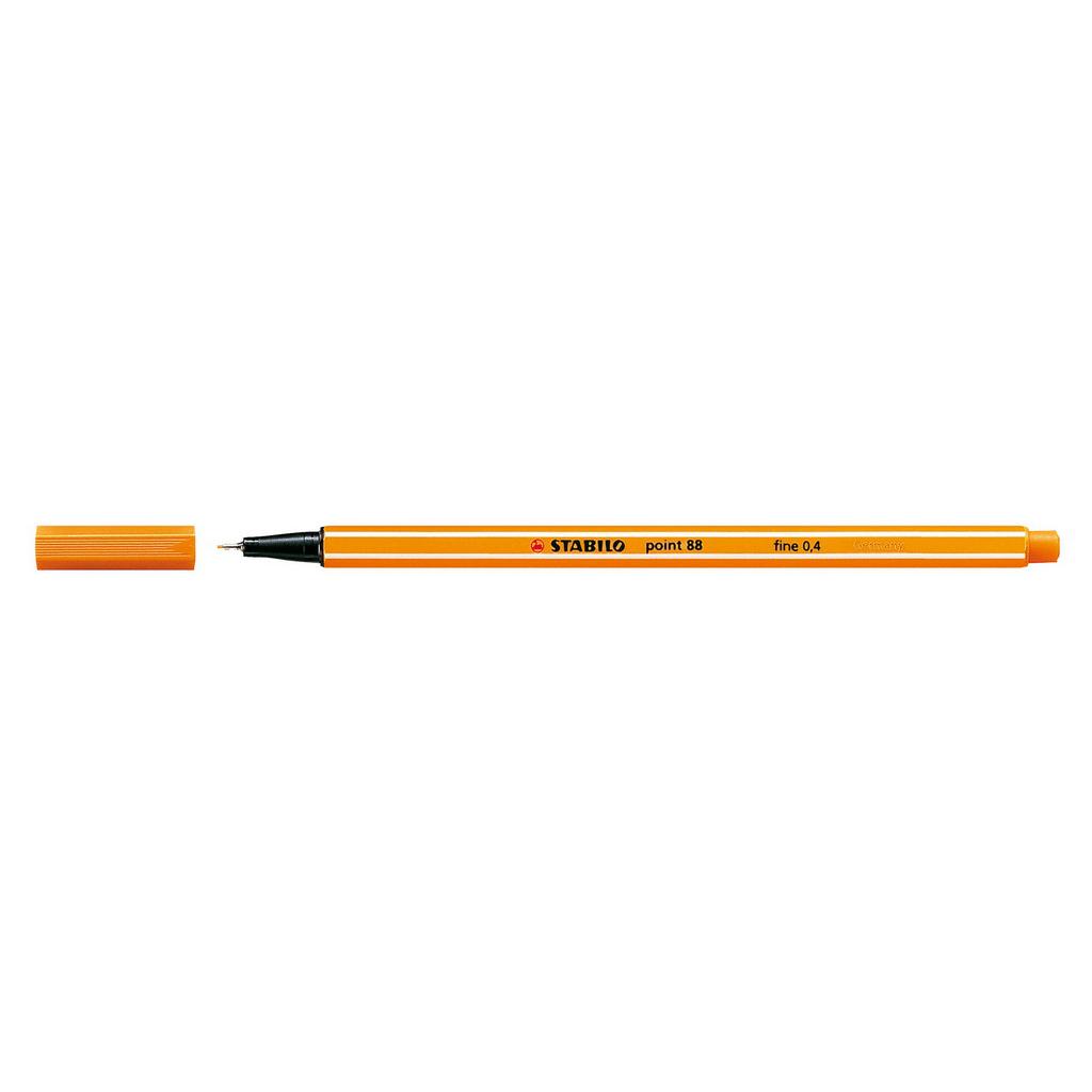 Stabilo popisovač  Point 88/54 0,4 liner - oranžová