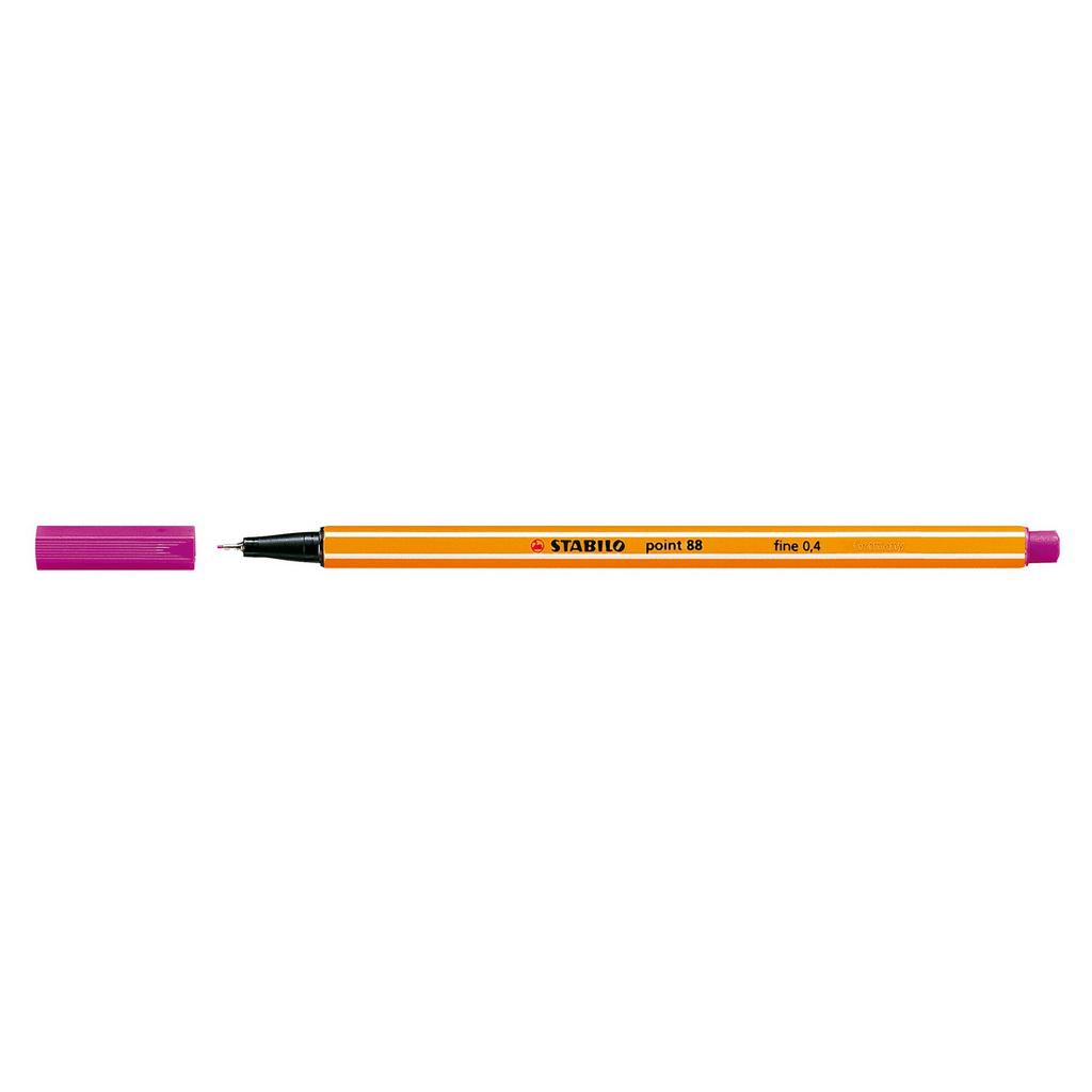 Stabilo popisovač  Point 88/58 0,4 liner - svetlo fialová