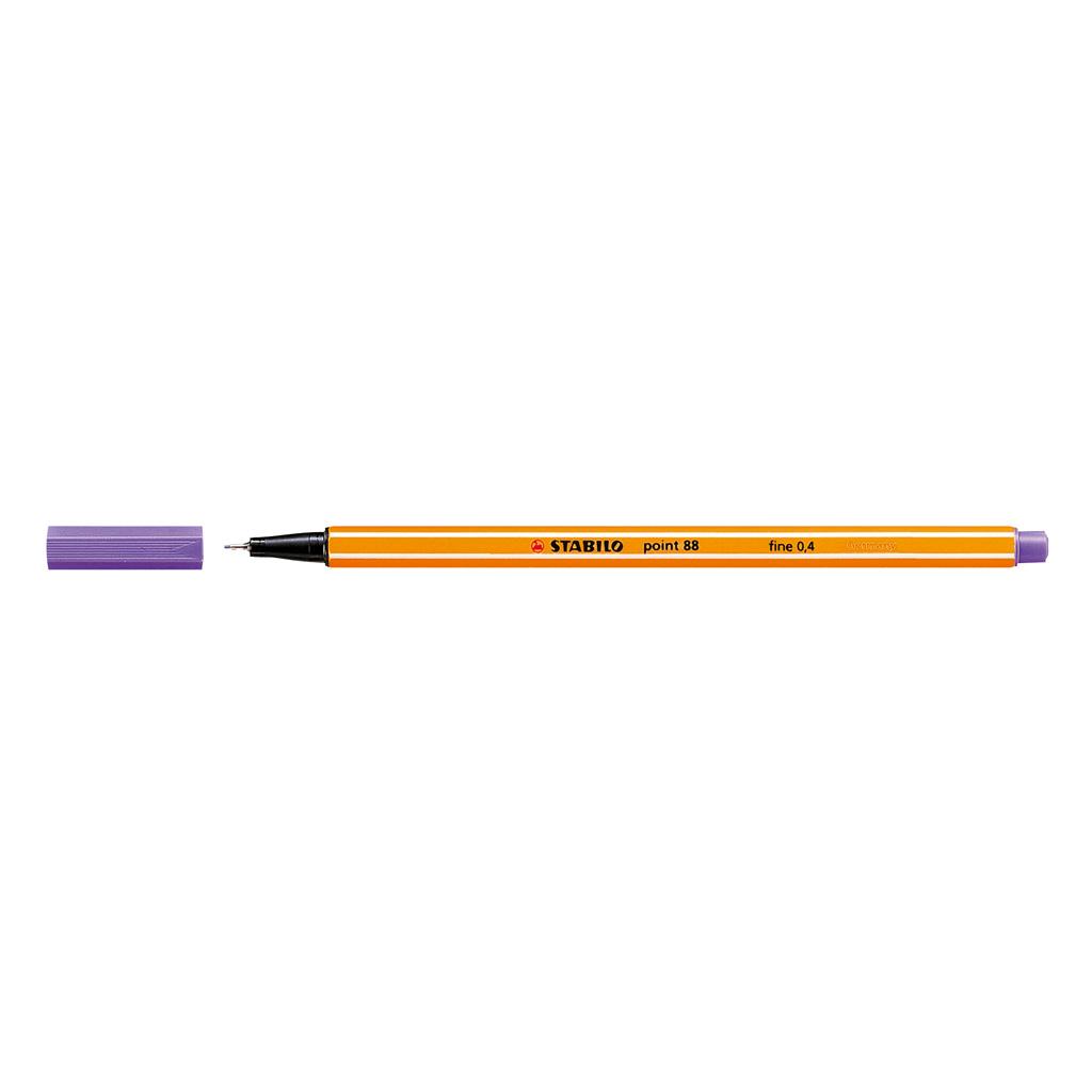 Stabilo popisovač  Point 88/55 0,4 liner - tmavo fialová
