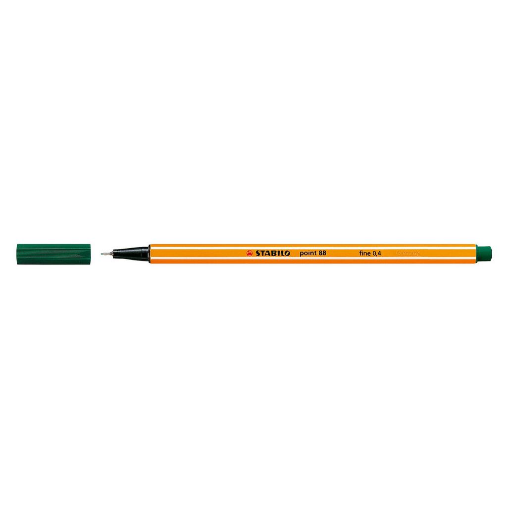 Stabilo popisovač  Point 88/53 0,4 liner - píniová zelená