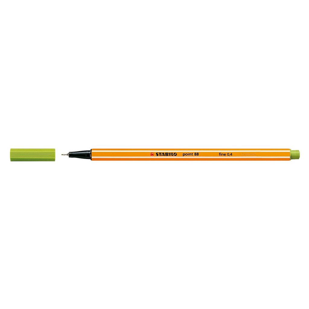 Stabilo popisovač  Point 88/33 0,4 liner - jablková zelená