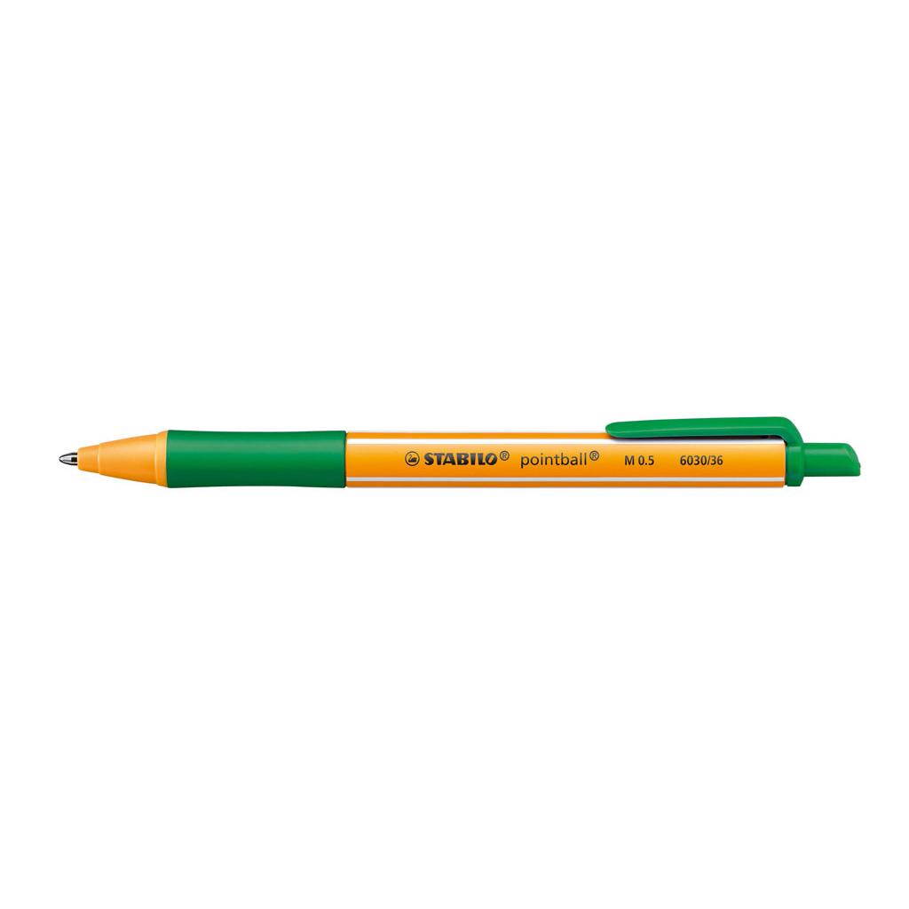 Stabilo Guľôčkové pero Pointball 6030/36 - zelená