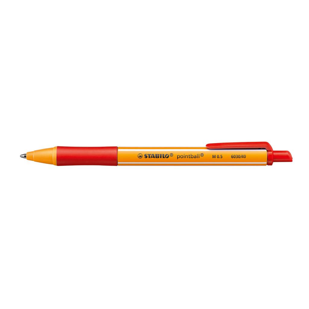 Stabilo Guľôčkové pero Pointball 6030/40 - červená