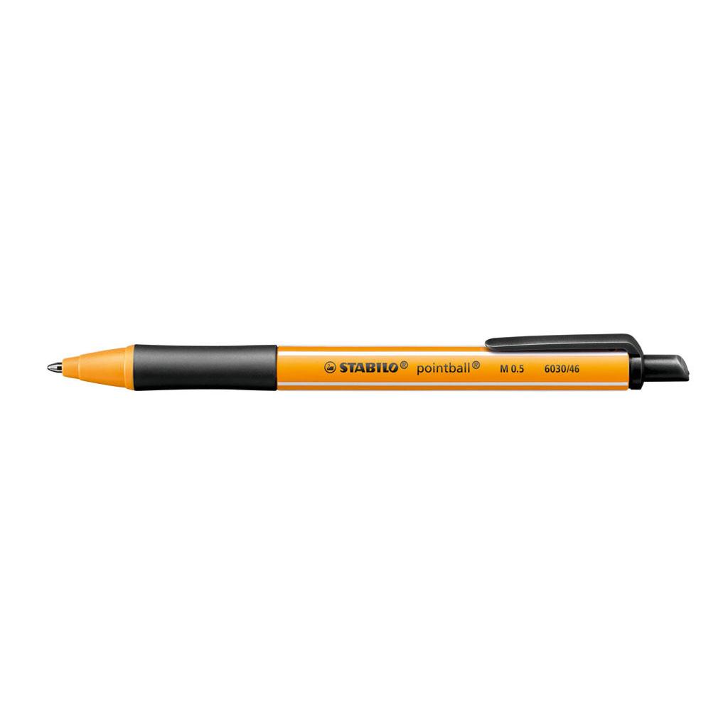 Stabilo Guľôčkové pero Pointball 6030/46 - čierna
