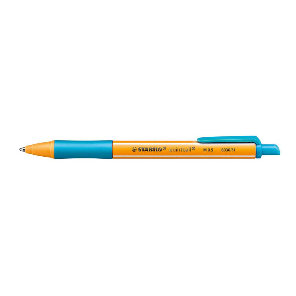 Stabilo Guľôčkové pero Pointball 6030/51 - tyrkysová