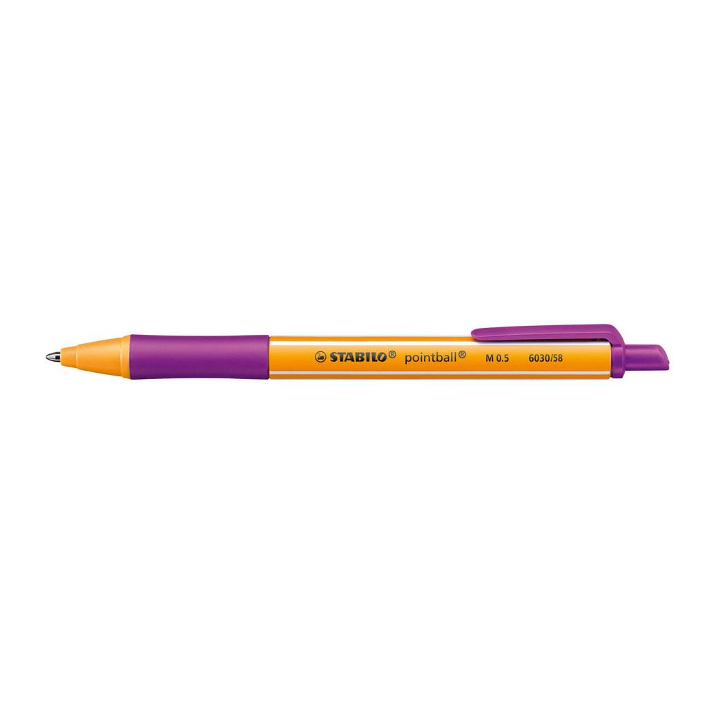 Stabilo Guľôčkové pero Pointball 6030/58 - lila