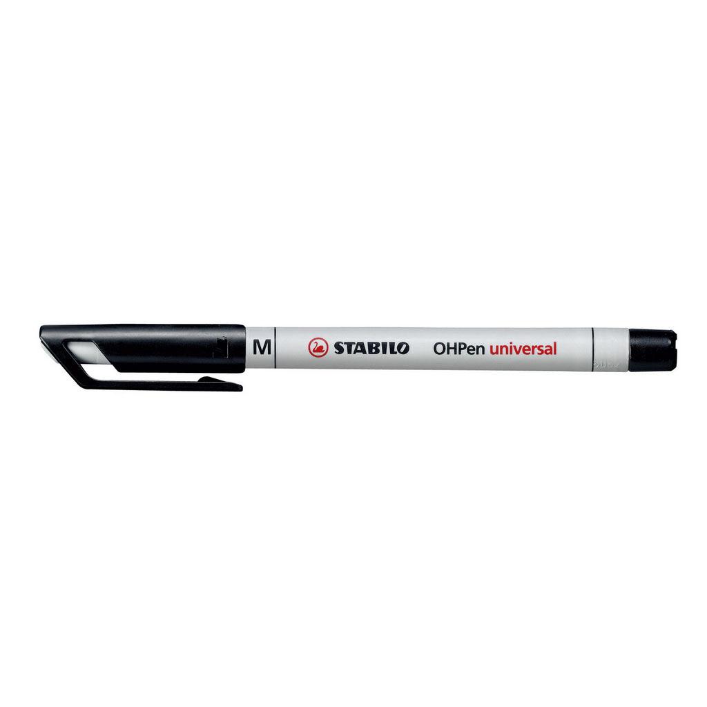 Stabilo Popisovač non-permanent OHPen 853/46, hrot 1 mm, čierny