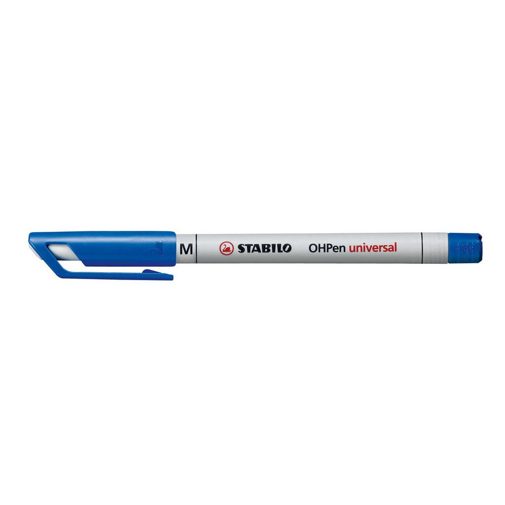 Stabilo Popisovač non-permanent OHPen 853/41, hrot 1 mm, modrý