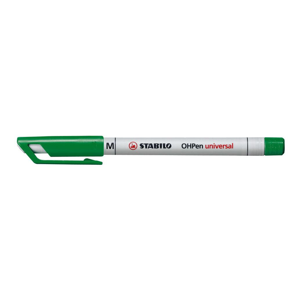 Stabilo Popisovač non-permanent OHPen 853/36, hrot 1 mm, zelený