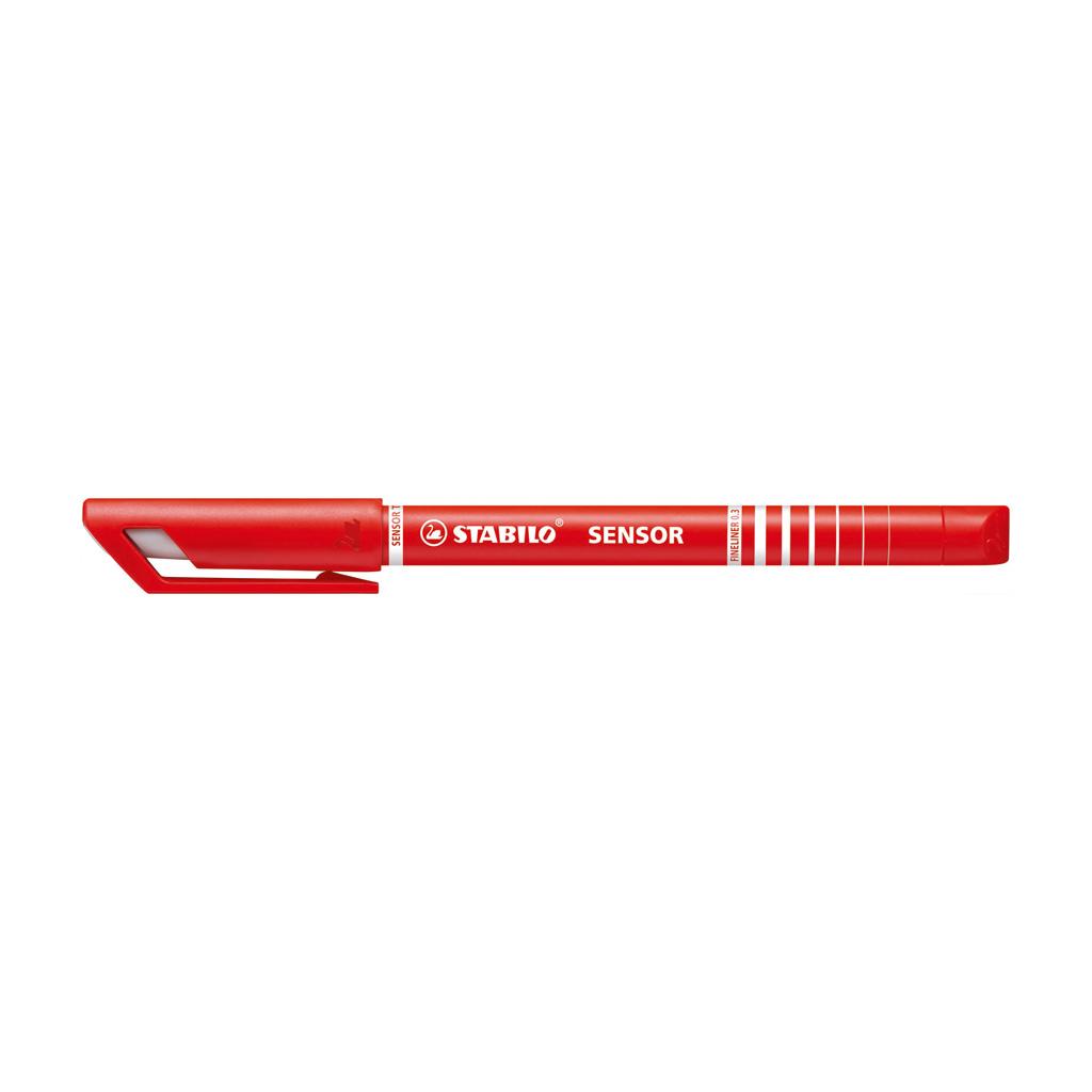 Stabilo fineliner  Sensor 189/40 - červená