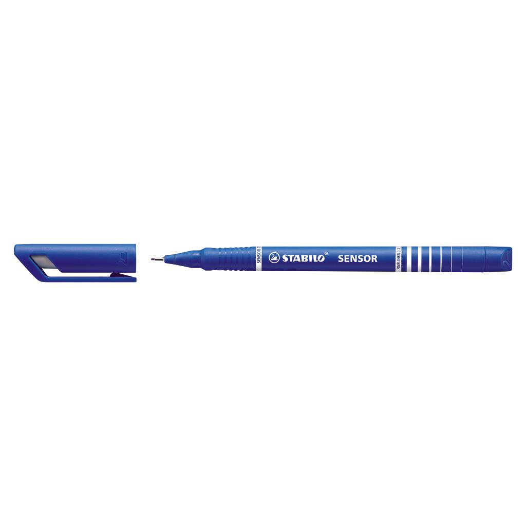 Stabilo fineliner  Sensor 189/41 - modrá