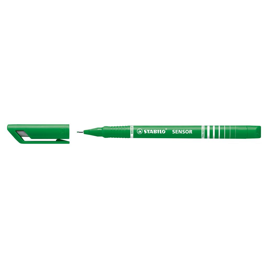Stabilo fineliner  Sensor 189/36 - zelená