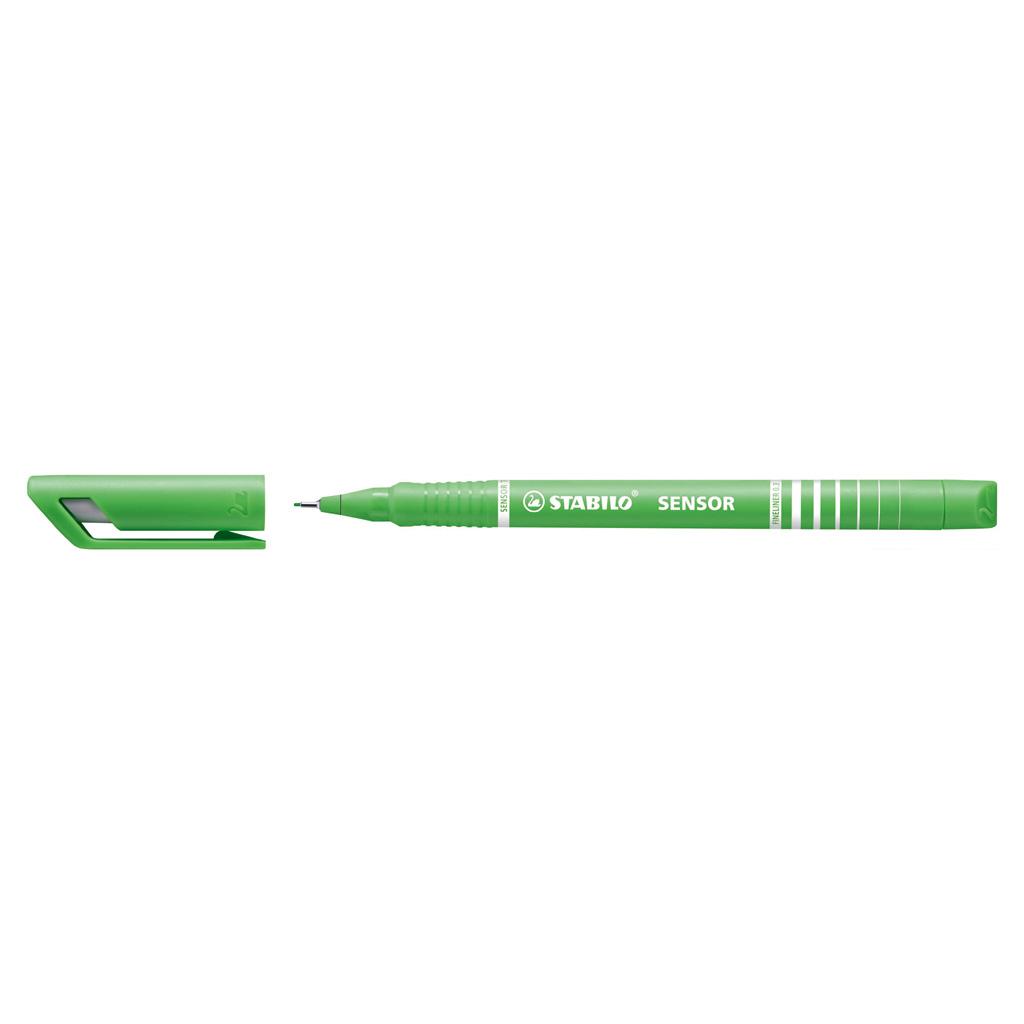 Stabilo fineliner Sensor 189/43 - svetlo zelená