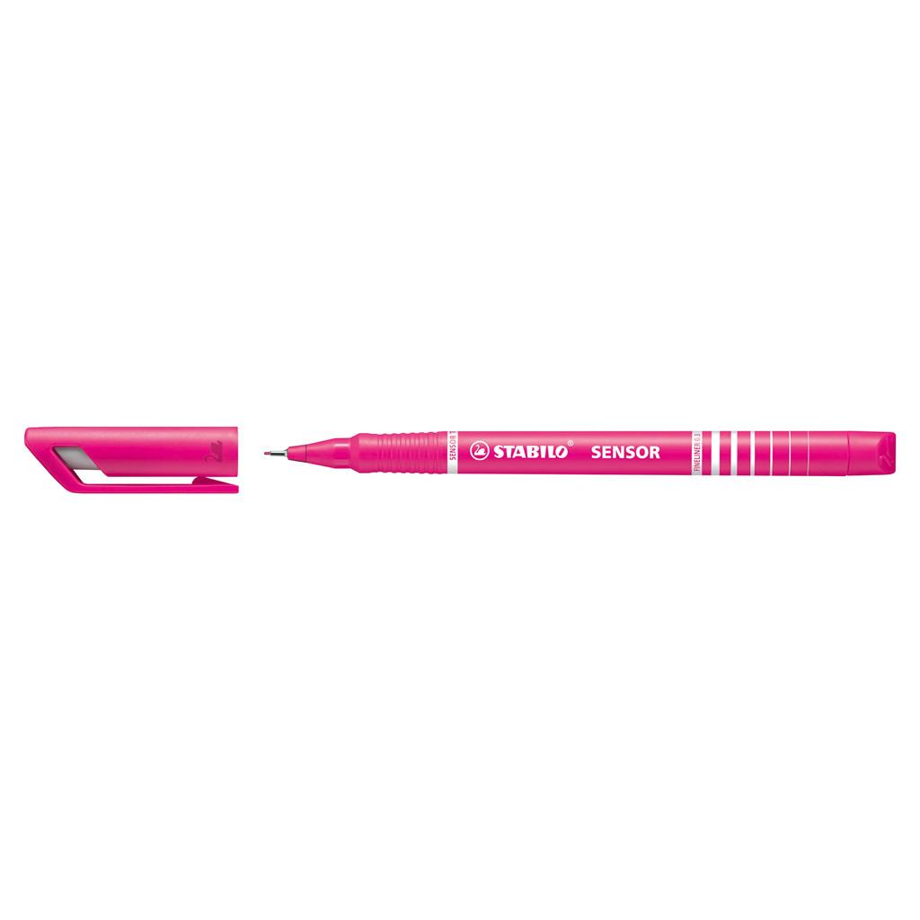 Stabilo fineliner Sensor 189/56 - ružová