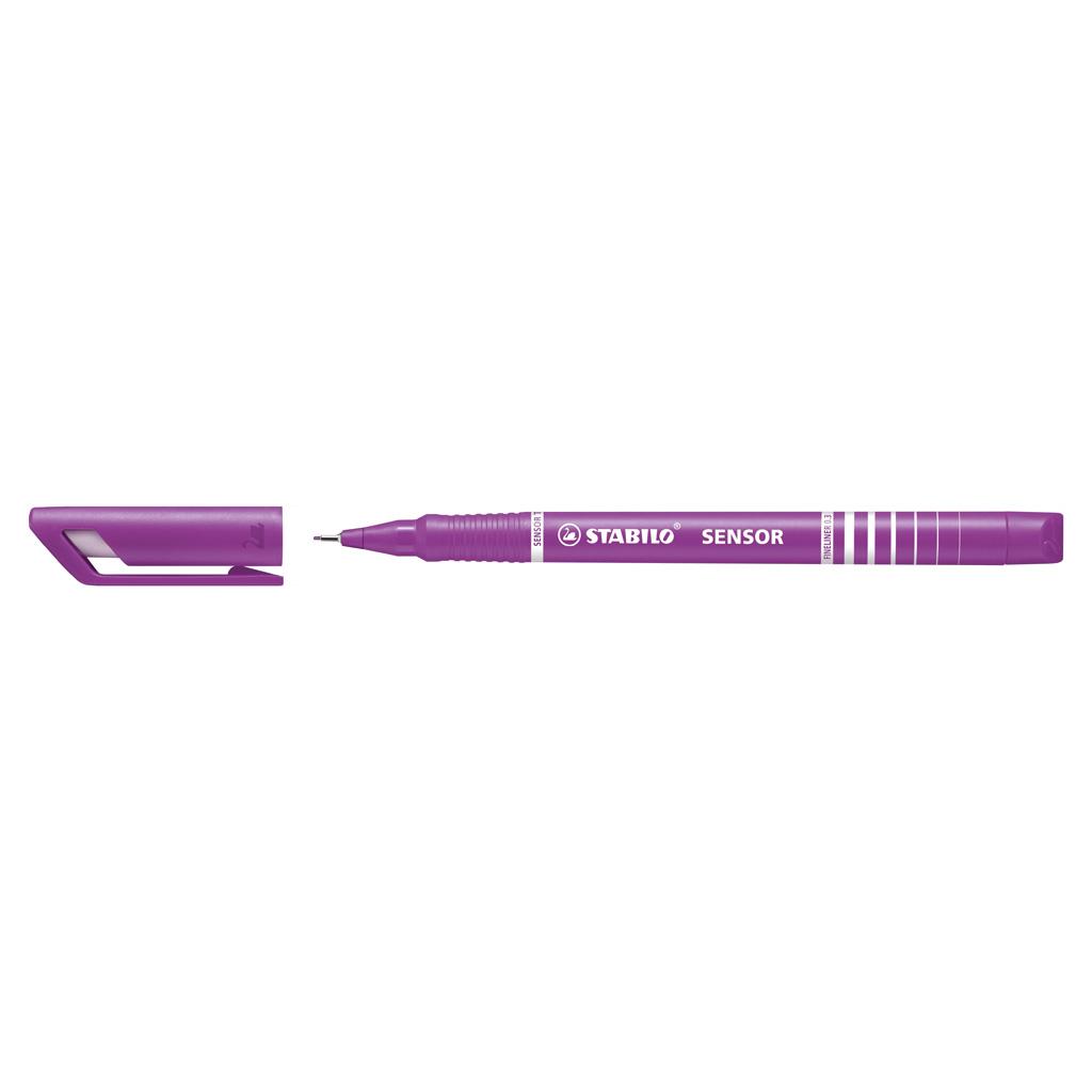 Stabilo fineliner Sensor 189/58 - lila