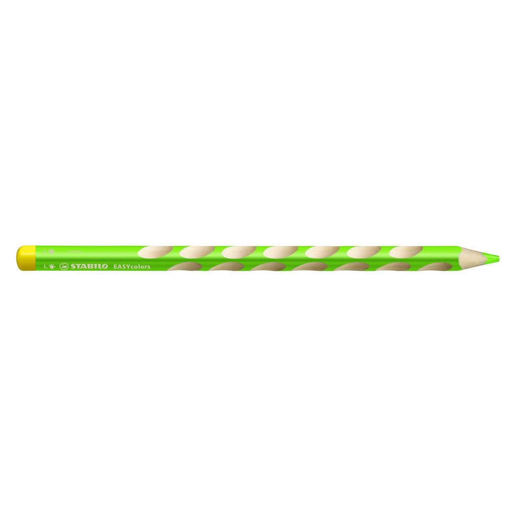 Stabilo  Easycolors pre ľavákov, svetlo zelená