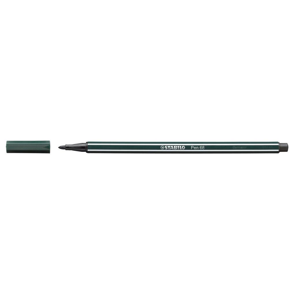 Stabilo Pen 68 fixka, 68/63 zelená zemná